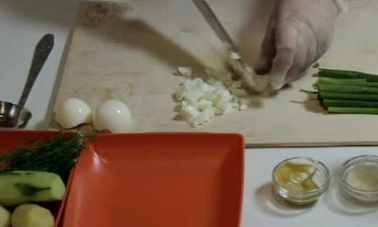 мельчим белок яиц