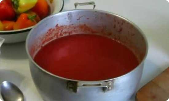 готовим томатный сок