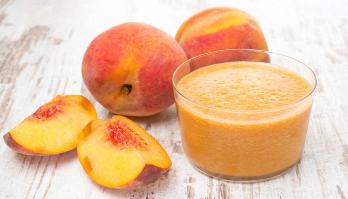 пюре из персиков
