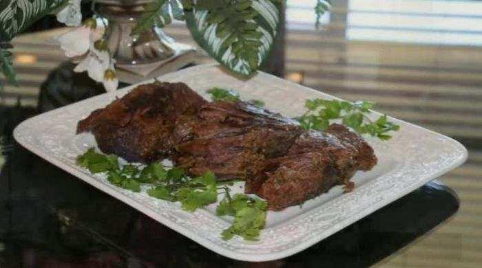 Мягкая и сочная говядина в духовке