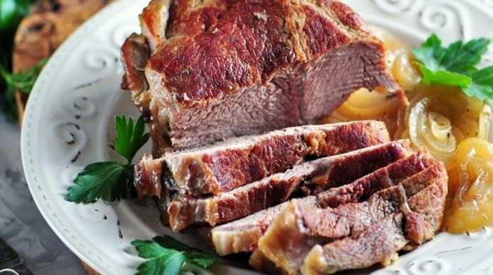 говядина в духовке с горчицей