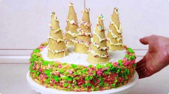 торт Удача на Новый год