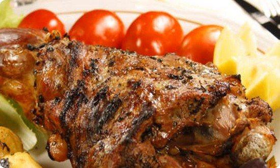мясо готово