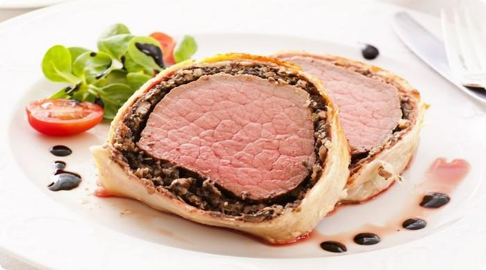 горячее блюдо из говядины на Новый год