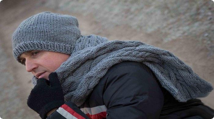 шапка и шарф своими руками