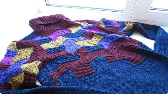самодельный свитер