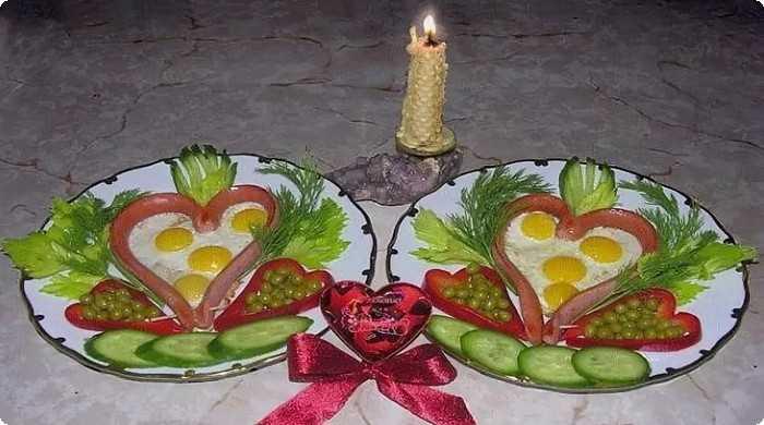 завтрак на 8 Марта