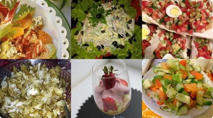 салаты из простых продуктов