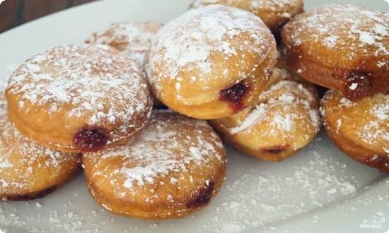берлинские пончики готовы