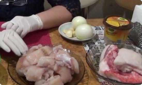 перекручиваем в мясорубке ингредиенты