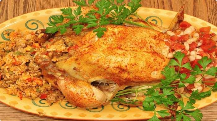 второе куриное блюдо