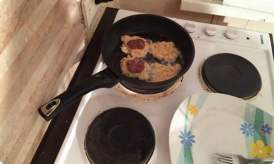 жарим драники на сковороде