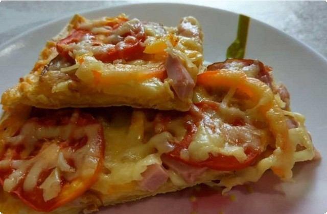 пицца с томатами в духовке