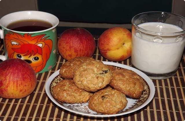 Овсяное печенье к чаю