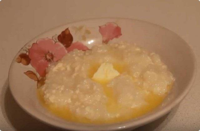 рисовая каша с молоком