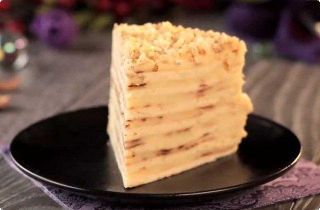 Простой рецепт торта Наполеон