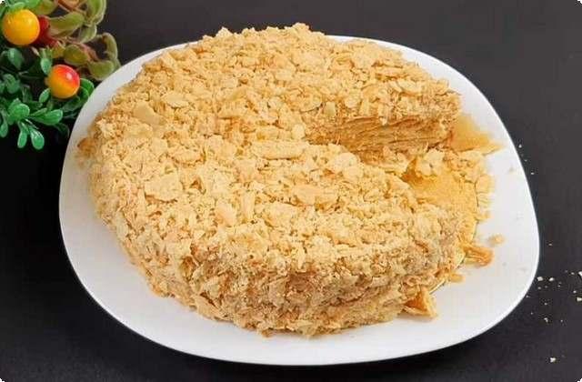 Торт Наполеон – классический домашний рецепт
