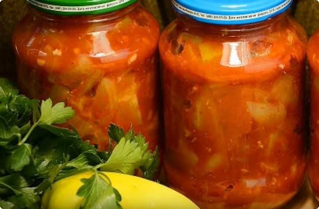 салат из помидор с перцем