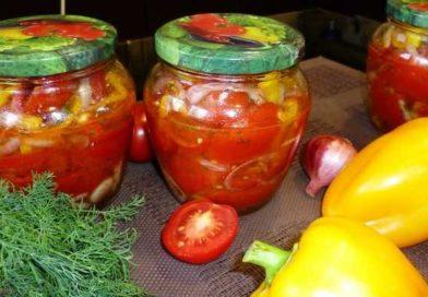 Салат из помидор на зиму без стерилизации — самые вкусные рецепты пальчики оближешь