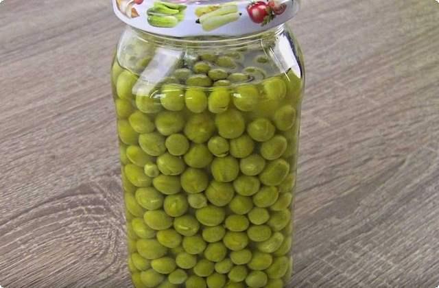зеленый горошек без уксуса