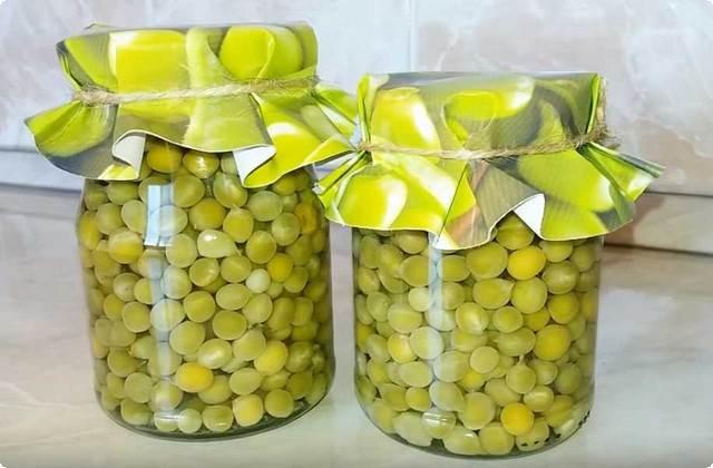 зеленый горошек с лимонной кислотой