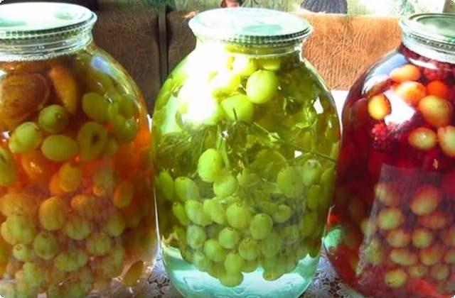 компот из винограда на 3 литровую банку