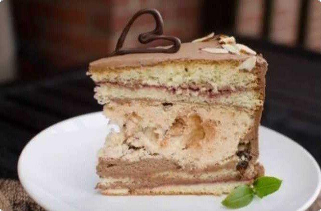 киевский торт с бисквитом