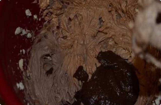 взбиваем шоколадный крем