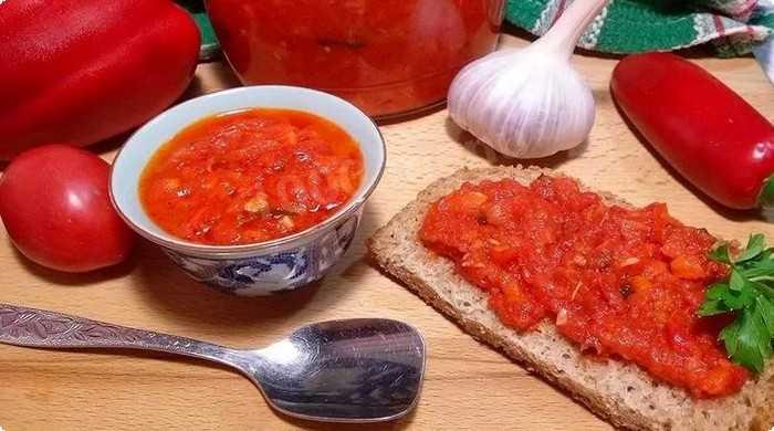 аджика из помидоров на зиму