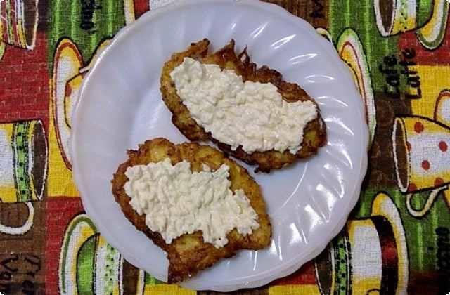 драники из кабачков с сыром