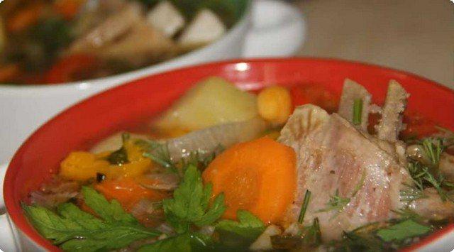 Шурпа из баранины - классический рецепт
